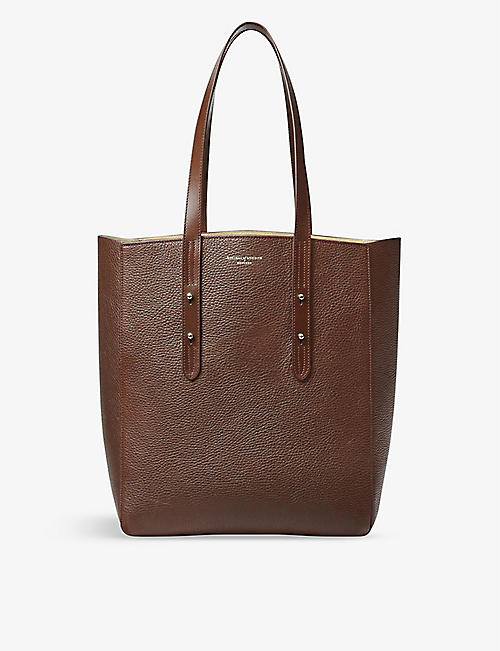 ASPINAL OF LONDON: Essential A leather tote bag