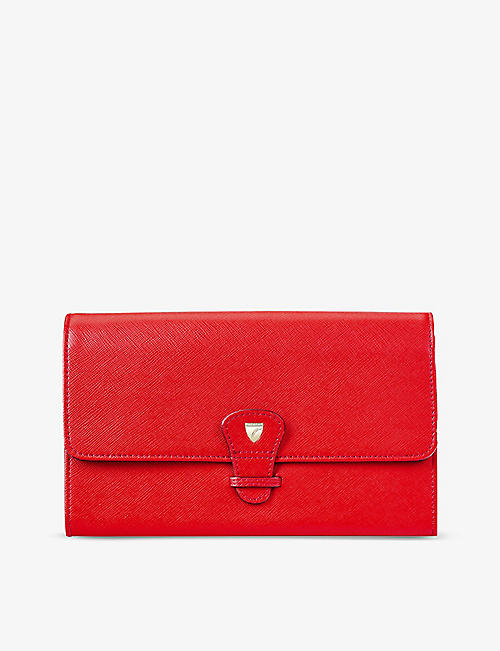 ASPINAL OF LONDON: Classic Travel leather wallet