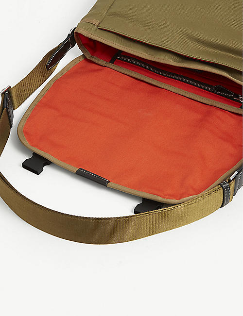 PAUL SMITH ACCESSORIES Canvas messenger bag