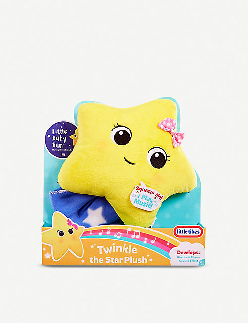 LITTLE TIKES: Little Baby Bum Twinkle the Star plush toy 28cm