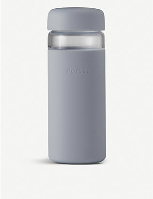 W&P DESIGN: Porter Wide Mouth glass water bottle 470ml