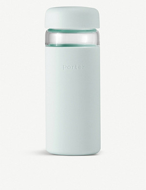W&P DESIGN Porter Wide Mouth glass water bottle 470ml