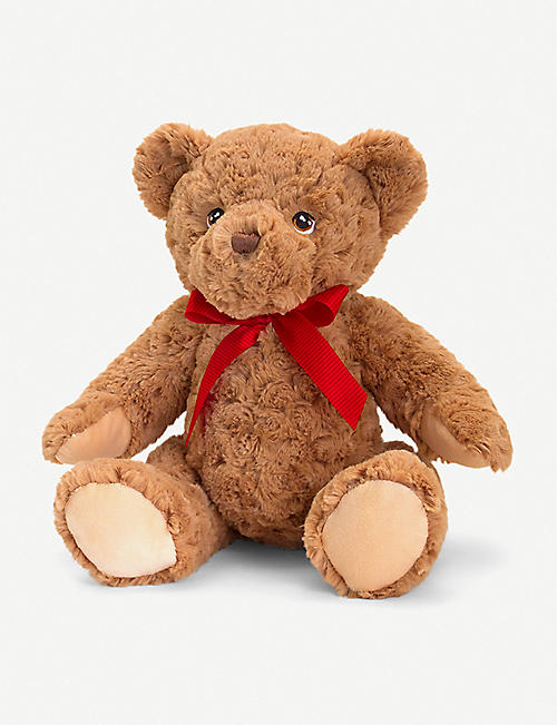 KEEL: Keel Eco Teddy recycled-polyester soft toy 30cm