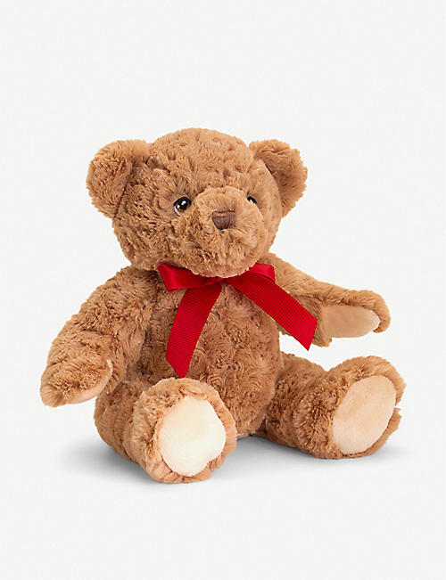 KEEL: Keel Eco Teddy recycled-polyester soft toy 25cm