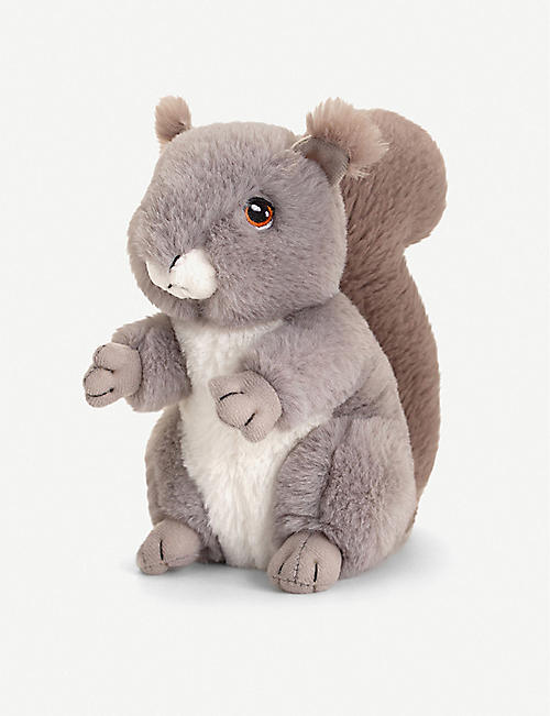KEEL: Squirrel recycled plush toy 18cm