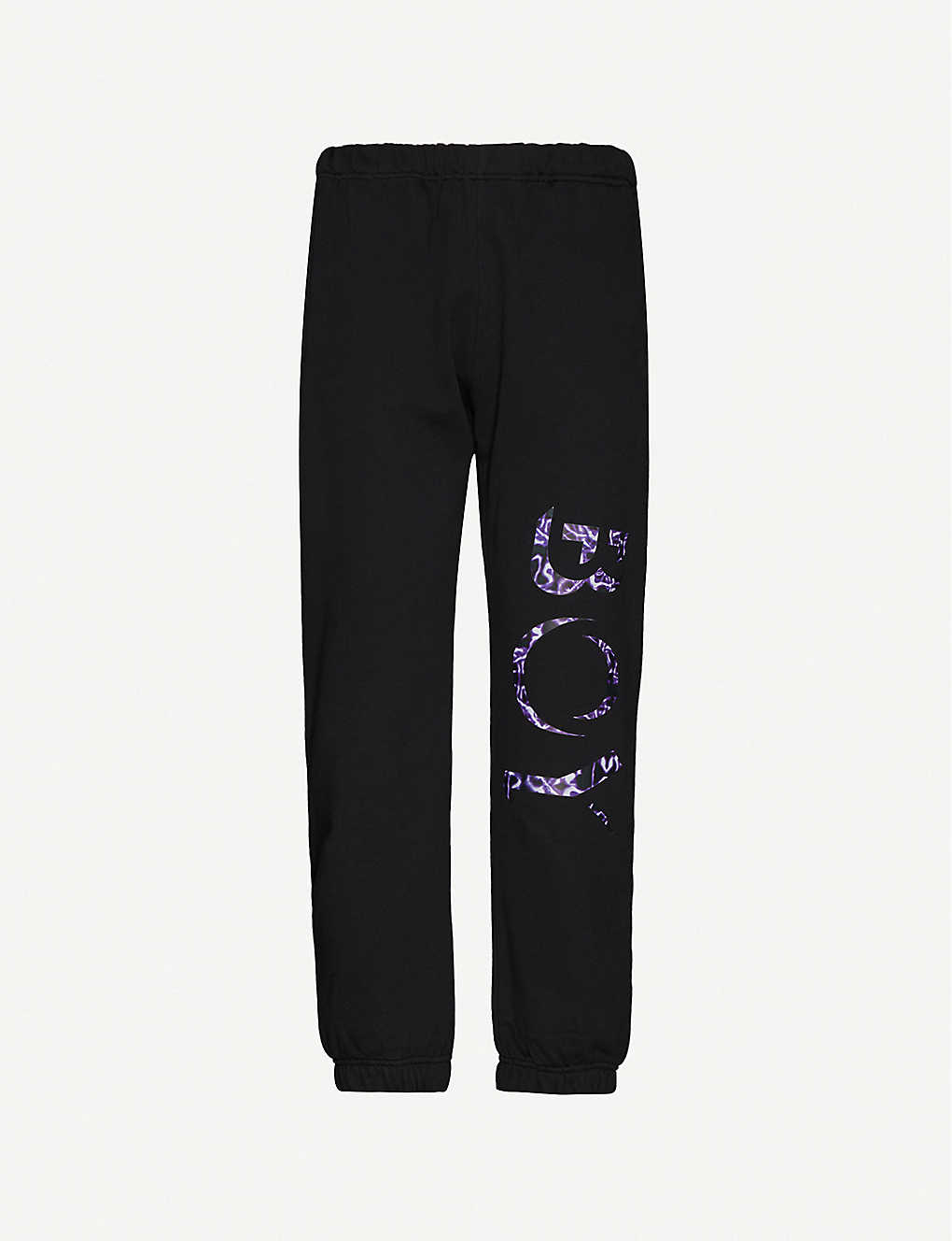 BOY LONDON: Thunder cotton-jersey jogging bottoms