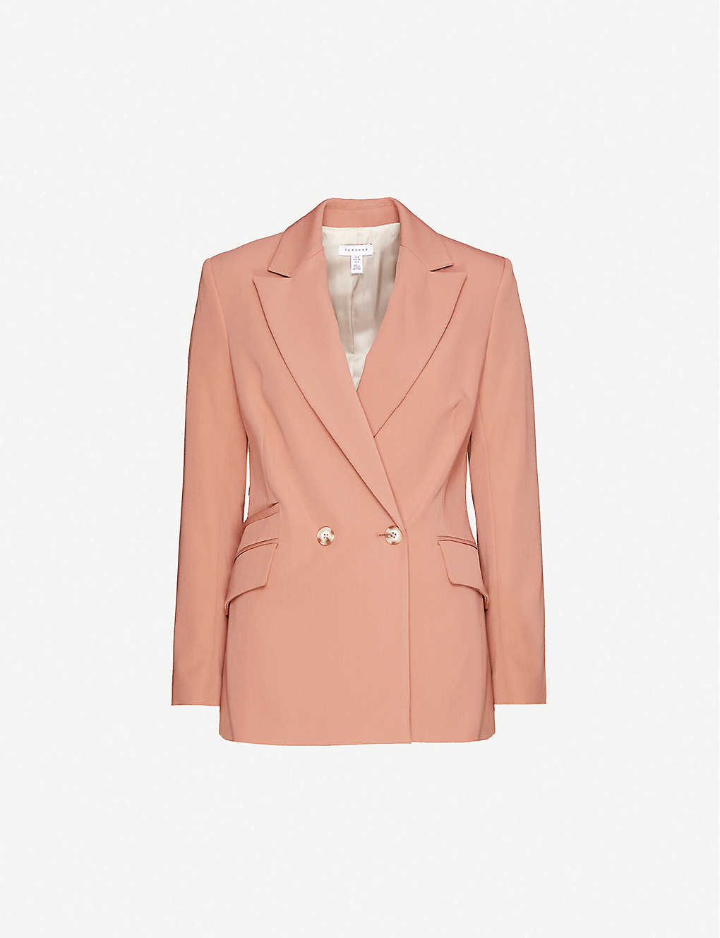 TOPSHOP: Kiki double-breasted stretch-woven blazer