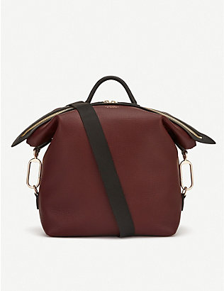 SMYTHSON: Ludlow leather rucksack