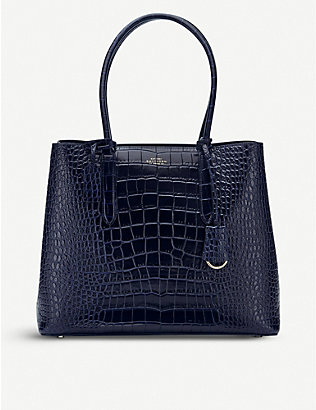 SMYTHSON: Mara Ciappa Business leather bag