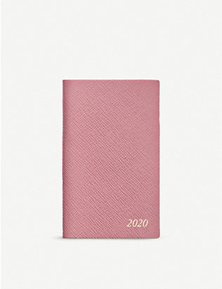 SMYTHSON: Panama 2020 leather diary 14cm x 9cm