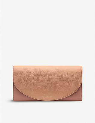 SMYTHSON: Ludlow Moon leather purse