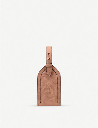 SMYTHSON: Ludlow leather luggage tag