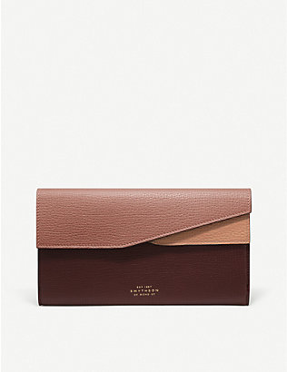 SMYTHSON: Ludlow leather organiser wallet