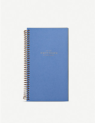 SMYTHSON: Bond 2020 week-to-view spiral-bound refill organiser 17cm x 9.4cm