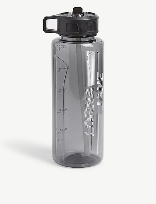 LORNA JANE: Logo-print plastic drinking bottle 1l