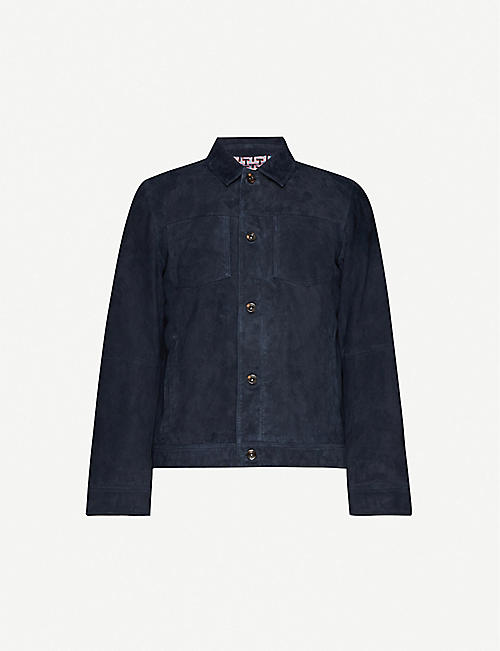 TED BAKER: SUEDE JACKET