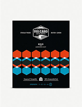 VOLCANO COFFEE: Bold Coffee pods 150g