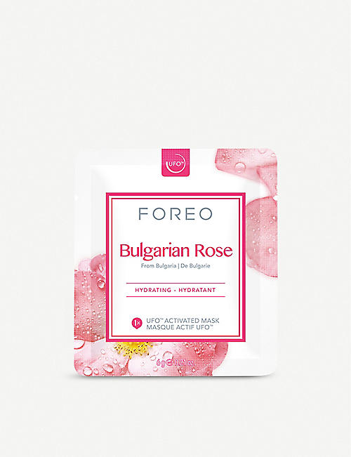 FOREO: Bulgarian Rose UFO-Activated Face Mask pack of six