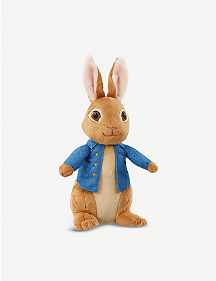 PETER RABBIT: Talking Peter Rabbit plush toy