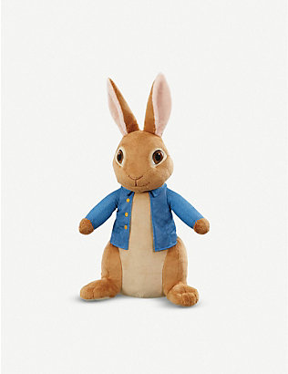 PETER RABBIT: Giant Peter Rabbit plush toy 45cm