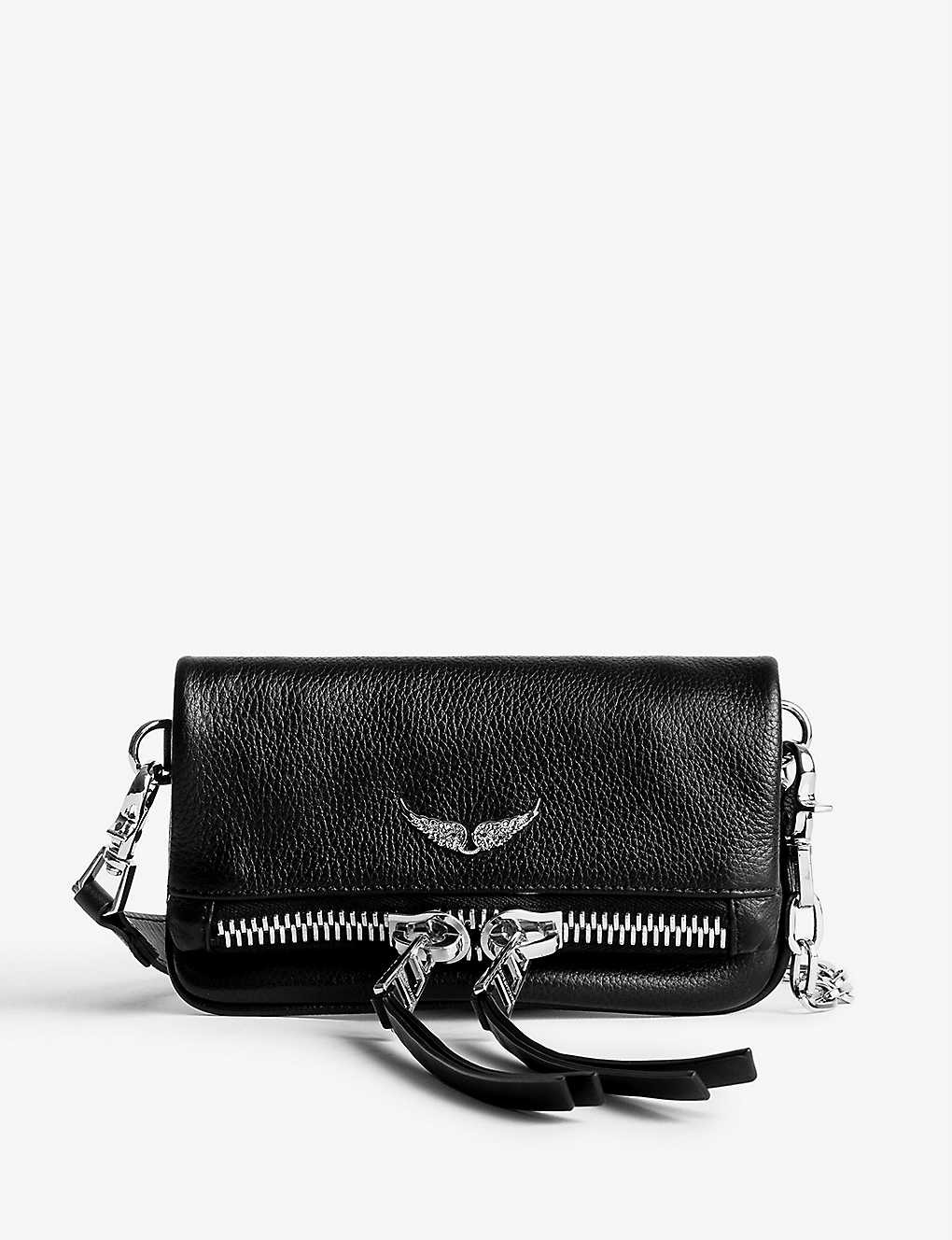 ZADIG&VOLTAIRE: Rock Nano leather clutch bag