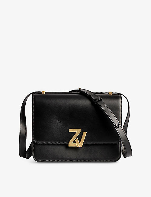 ZADIG&VOLTAIRE: ZV City leather cross-body bag