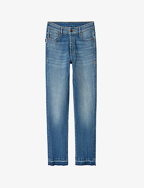 ZADIG&VOLTAIRE: Boyfit Eco straight jeans