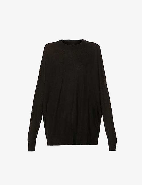 ZADIG&VOLTAIRE: Ruby oversized fine-knit cashmere jumper
