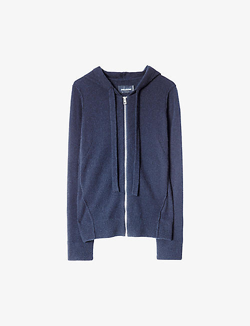 ZADIG&VOLTAIRE: Cassy cashmere hoody