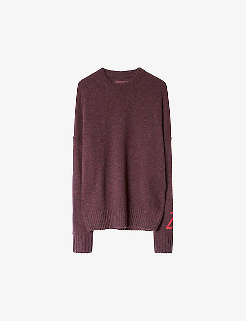 ZADIG&VOLTAIRE: Roby alpaca and wool-blend jumper