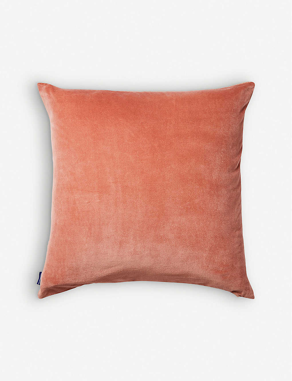 THE CONRAN SHOP: Cotton-velvet cushion 50cm x 50cm