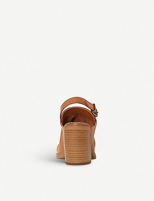 BERTIE Issi slingback leather sandals
