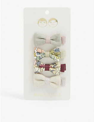 MIMI & LULA: Kids Iris cherry blossom hair clips