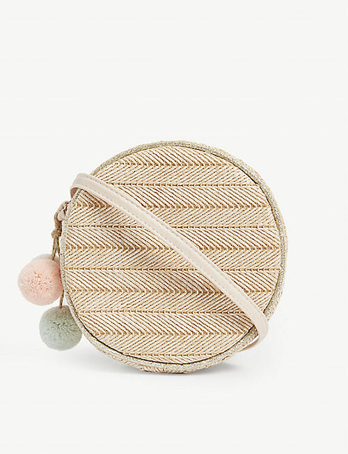 MIMI & LULA Kids pom pom crossbody bag