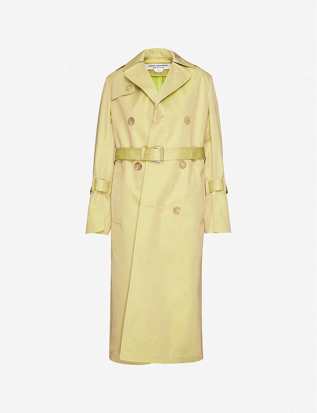 JUNYA WATANABE: Double-breasted cotton-blend trench coat