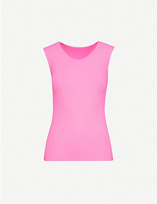 JUNYA WATANABE: Scoop-neck stretch-jersey vest