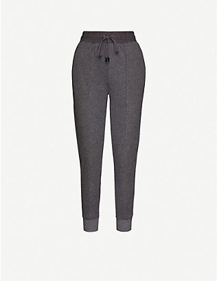 WHISTLES: Relaxed-fit stretch-jersey jogging bottoms