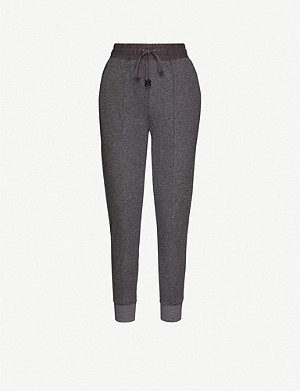 WHISTLES Relaxed-fit stretch-jersey jogging bottoms
