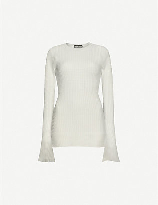 KWAIDAN EDITIONS: Slim-fit stretch-knitted top