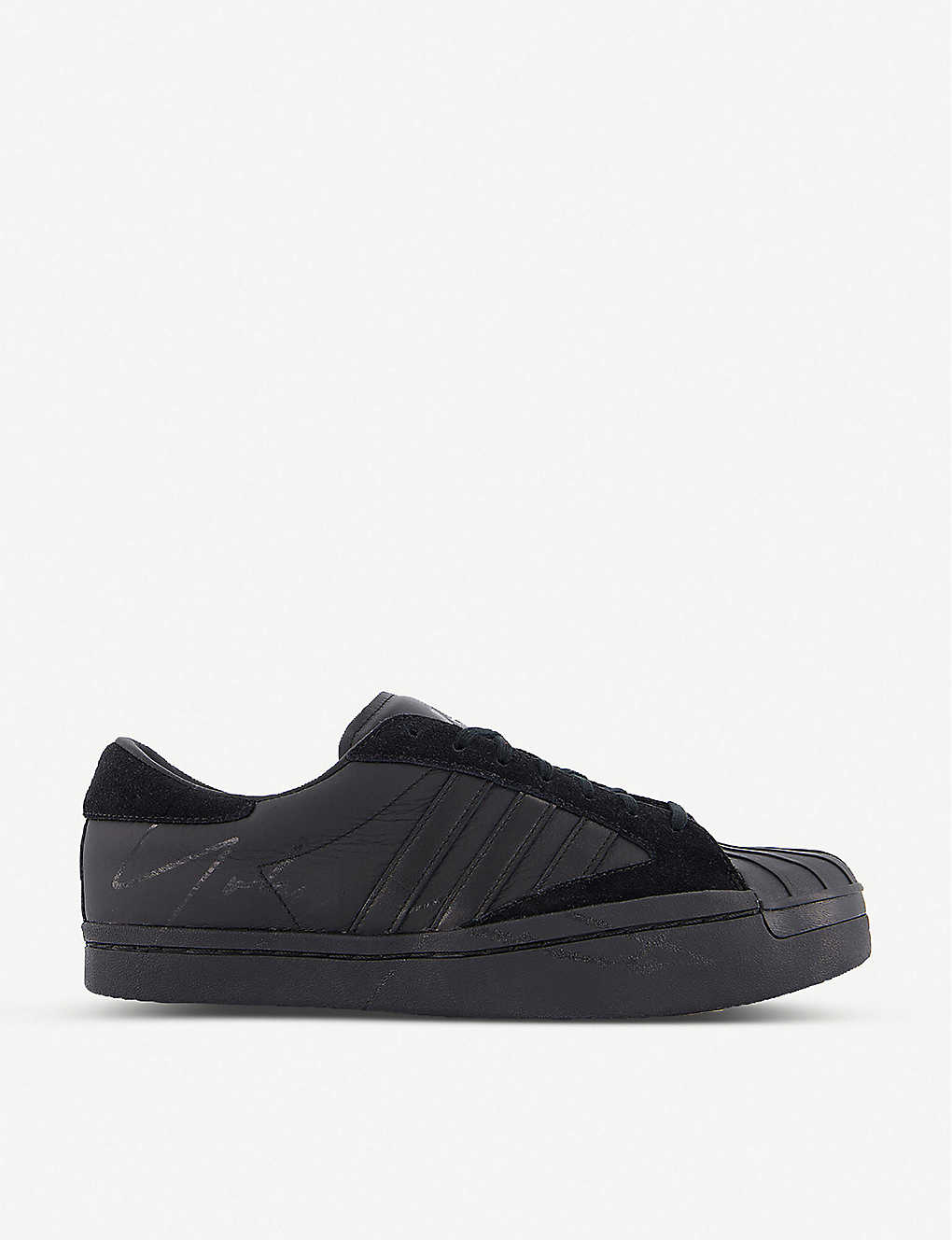 ADIDAS: Y-3 Yohji Star canvas and leather trainers