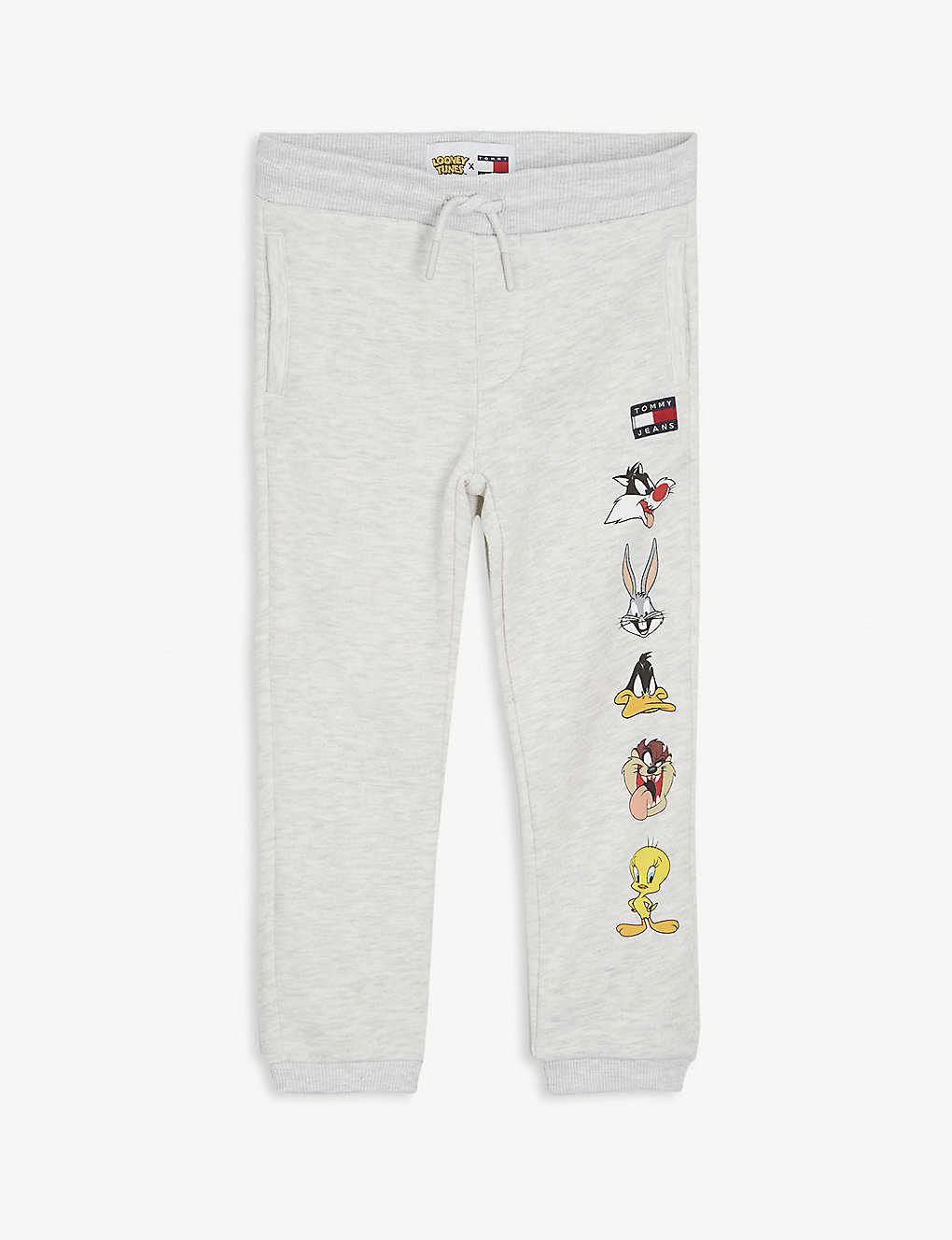 TOMMY HILFIGER: Tommy Jeans x Looney Tunes cotton-blend jogging bottoms 4-12 years