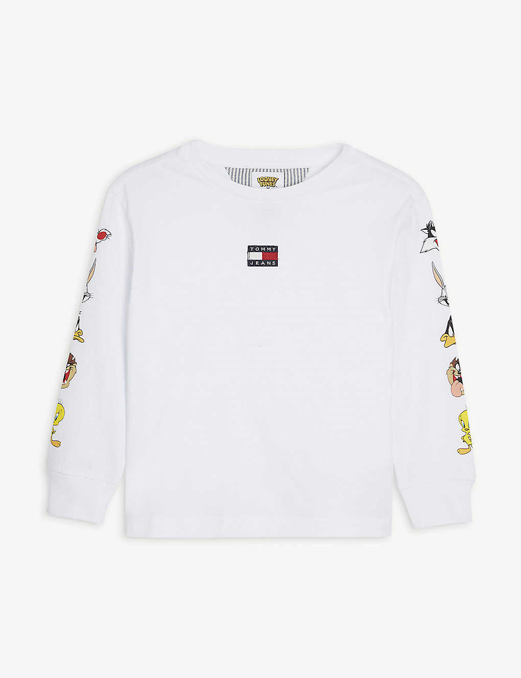 TOMMY HILFIGER: Tommy Jeans x Looney Tunes long sleeved cotton top 4-12 years