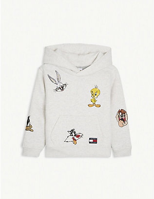 TOMMY HILFIGER: Looney Tunes fleece hoody 4-12 years