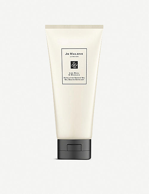 JO MALONE LONDON: Lime Basil & Mandarin exfoliating shower gel 200ml