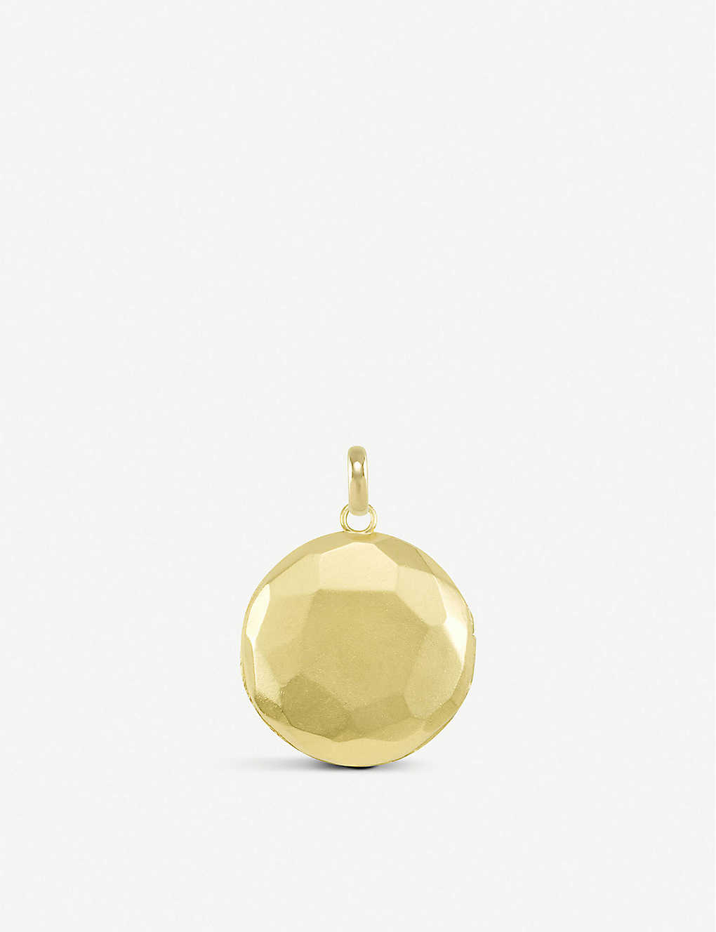 KENDRA SCOTT: Vintage gold-plated large locket charm