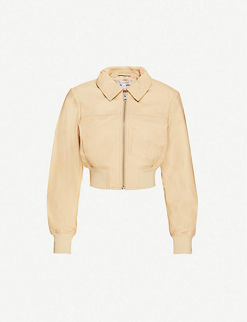TOPSHOP Heavyweight leather jacket