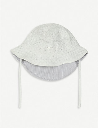 BARTS AL: Lune embroidered cotton bucket hat