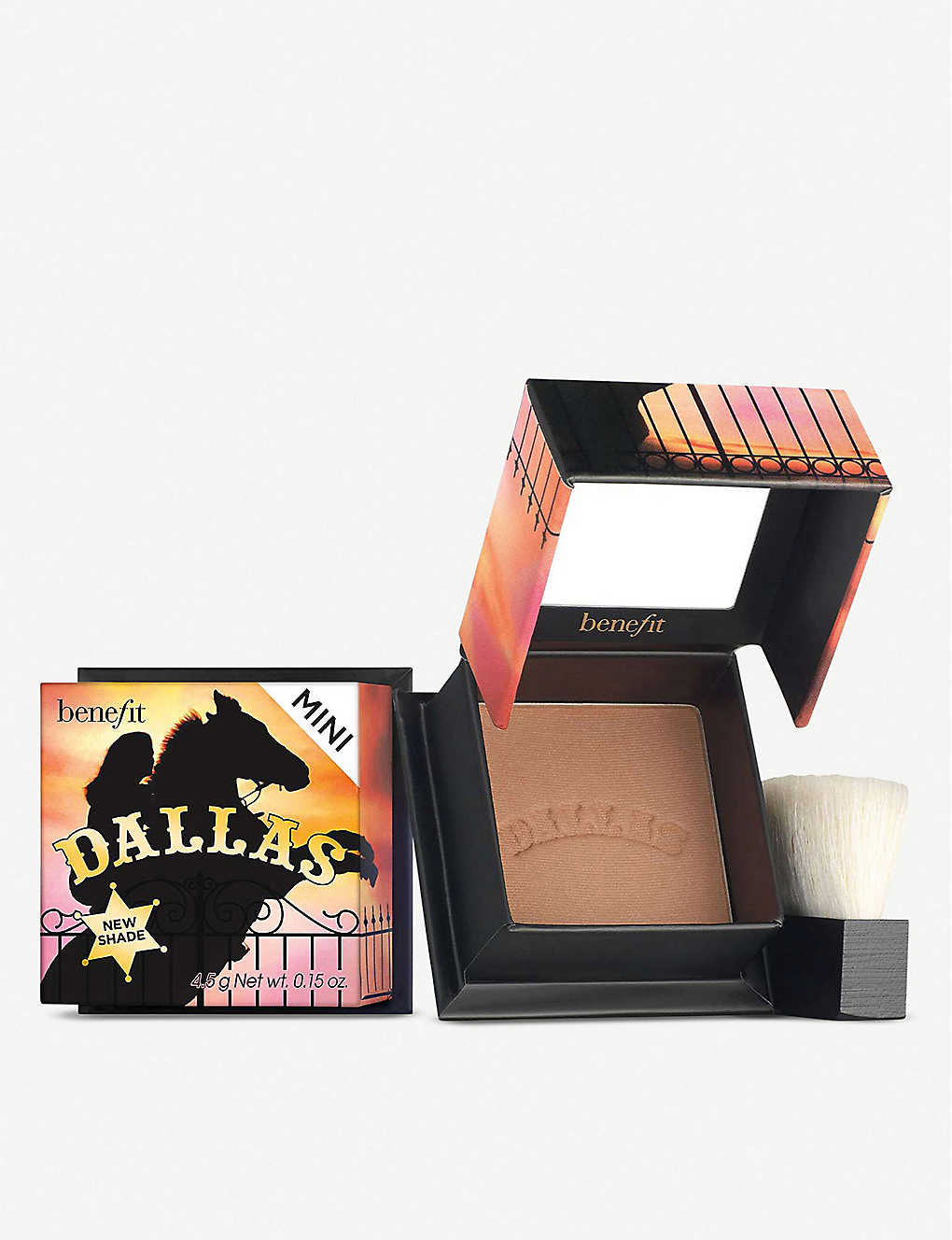 BENEFIT: Mini Dallas bronzing blusher 4g