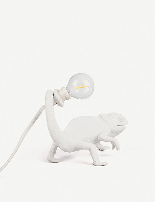 SELETTI: Chameleon resin indoor lamp 17cm