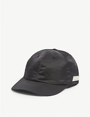 HERON PRESTON: Logo plaque nylon baseball cap